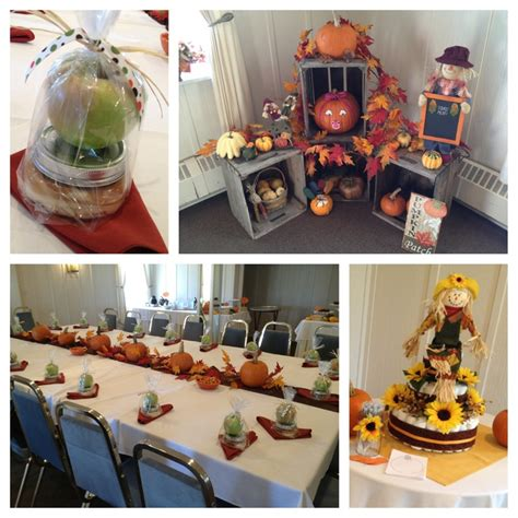 pumpkin table decorations for baby shower photograph baby