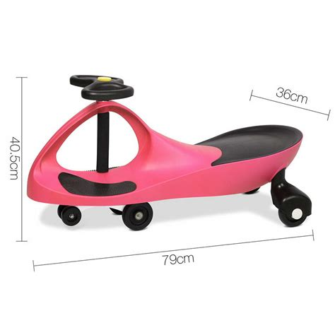 swing cars pedal free swing car 79cm pink