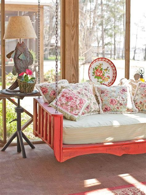 porch swing beds front porch design ideas home decorating blog