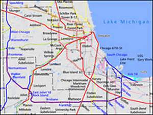 Train Line Map Chicago by Plan To Unsnarl Chicago Rail Hits Snags In Suburbs Npr