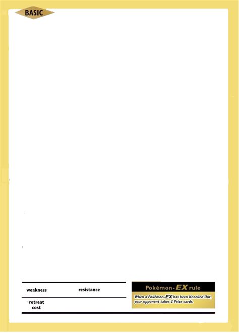 ex card template tcg 20th anniversary template ex by rollingsteam