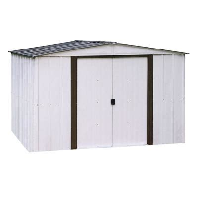 8x10 metal shed weight