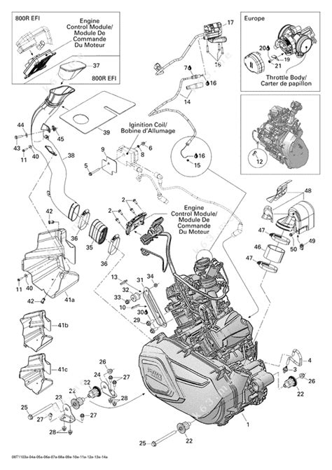 can am parts diagram can am atv parts diagram 28 images what engines will