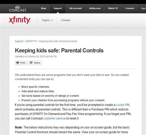 comcast xfinity help desk 58 best parental controls images on pinterest cable
