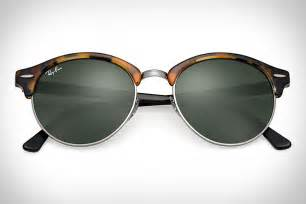 Ray Ban Clubmaster Wood Sunglasses Uncrate