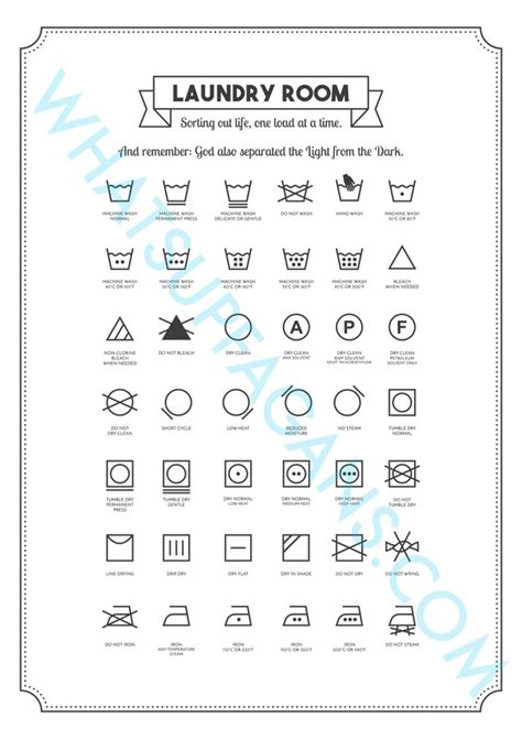 printable laundry tags laundry cheat sheets 3 free printables for your laundry room