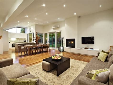 Choosing Paint Colors For Open Floor Plan photo of a living room idea from a real australian house