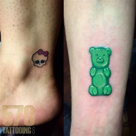 gummy bear tattoo gummy tattoos find gummy tattoos