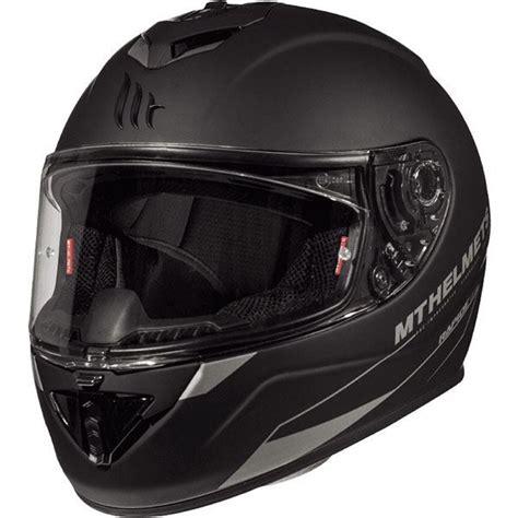 mt kask rapide kapali motosiklet kaski mat siyah