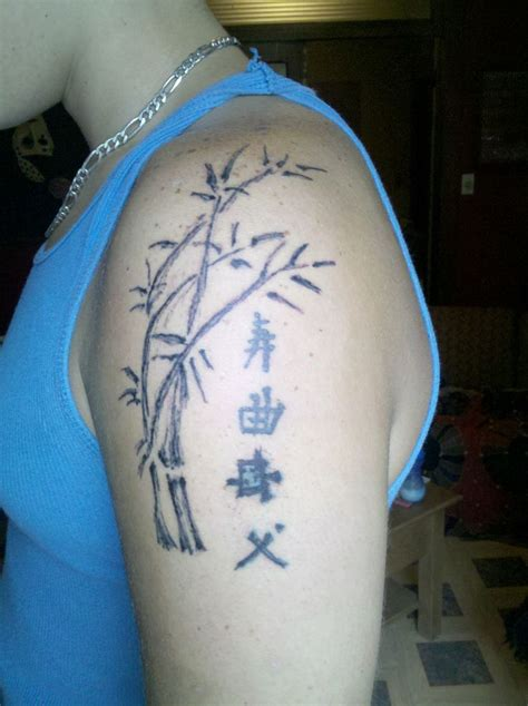 bamboo tattoos 17 best images about new tats on sleeve