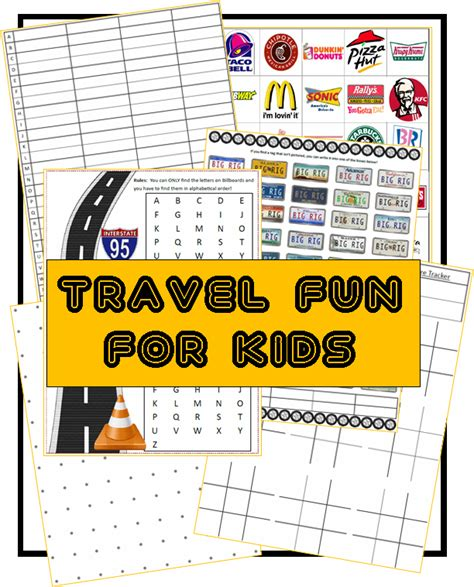 fun road trip games printable over 20 fun road trip ideas for kids 3 boys and a dog