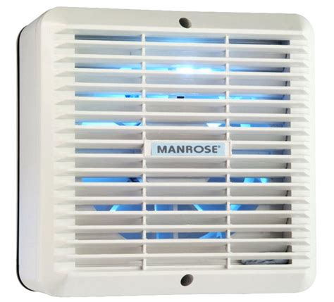 extractor fan with backdraft shutter wf150a manrose wf150a 150mm window extractor fan with