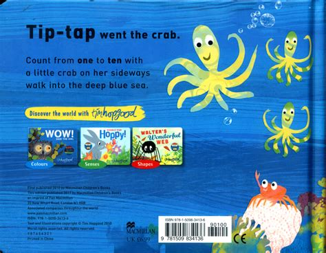 tip tap went the crab by hopgood tim 9781509834136 brownsbfs