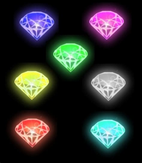 Kaos Cewek Pink Vs White 1 chaos emerald by tails19950 on deviantart