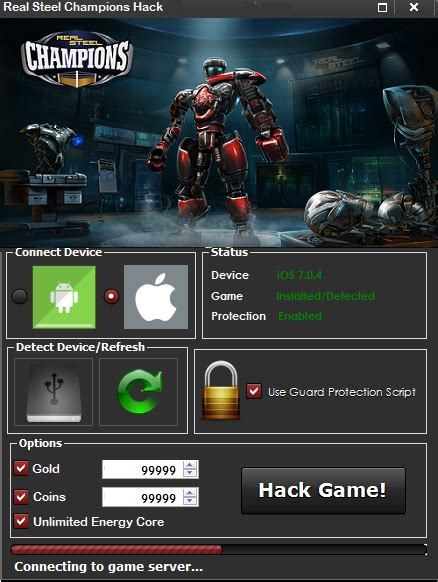 kumpulan cheat mod hack game real steel chions cheats and hack tool get unlimited