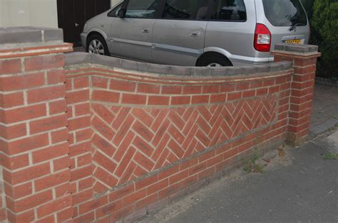 front garden brick wall designs front garden wall bricklaying in benfleet essex