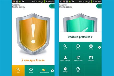 kespersky apk recensione kaspersky security per android tom s hardware