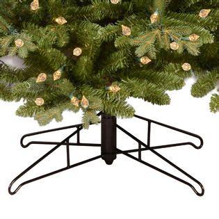 ge fresh cut artificial tree 9 pre lit deluxe aspen fir tree sears