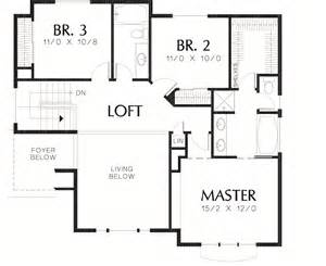Sloped Lot Floor Plans by Sloping Lot Country Plan Second Floor Layout Maverick