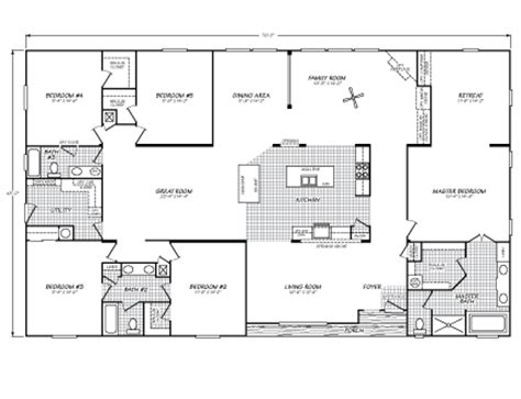 fleetwood manufactured homes floor plans riverknoll 45765m fleetwood homes for the home pinterest