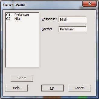 cara uji normalitas menggunakan minitab cara kruskall wallis dengan minitab uji statistik