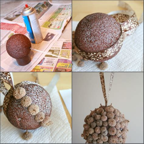 decorative crafts for home using up our fallen acorns make and takes