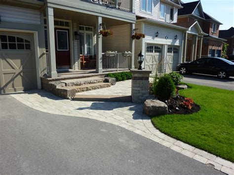 front yard driveway ideas horseshoe driveway landscaping studio design gallery