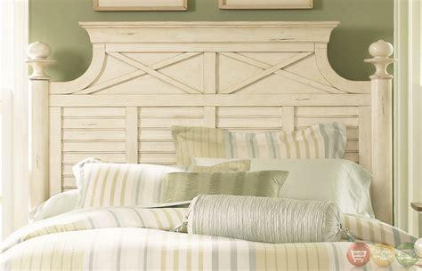 coastal cottage bedroom furniture ocean isle coastal cottage bisque finish poster bedroom set