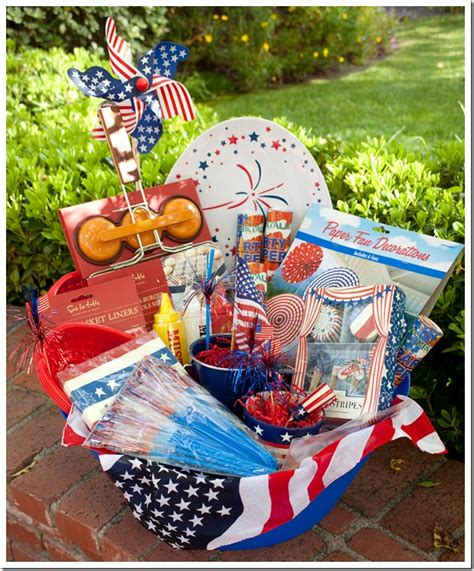 themed gift basket ideas for auction gift basket ideas for a silent auction 4th of july