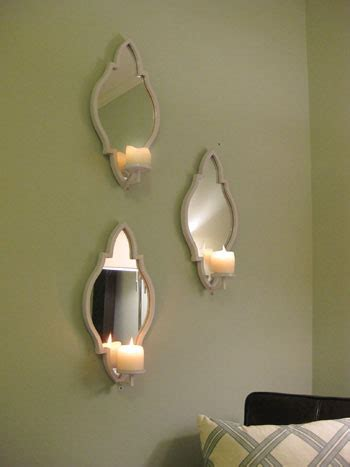 candle wall sconces for bedroom three candle sconces on the bedroom wall young house love