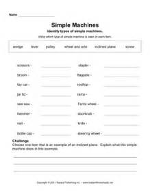 bill nye simple machines worksheet answer sheet and two