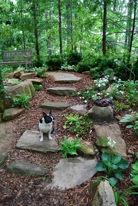 Backyard Landscaping Ideas With Stones by 25 Best Ideas About Garden Stones On Diy