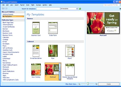 office templates publisher microsoft office professional 2007 upgrade at