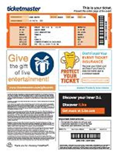 printable tickets from ticketmaster ticketmaster help