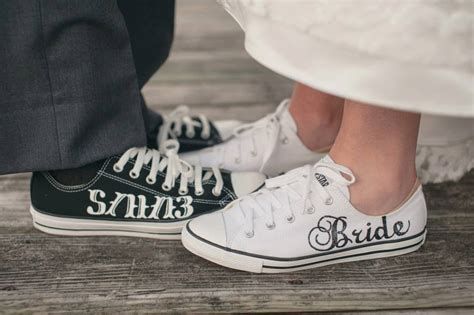 Hochzeit Chucks by Made To Order Groom Wedding Converse