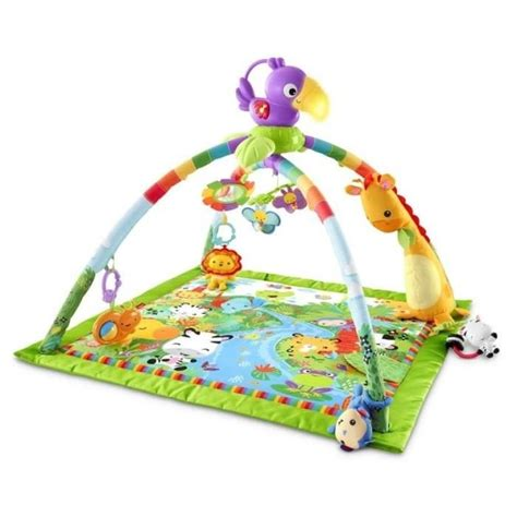 Tapis Fisher Price Jungle by Fisher Price Tapis De La Jungle Musical Et Lumineux Vert