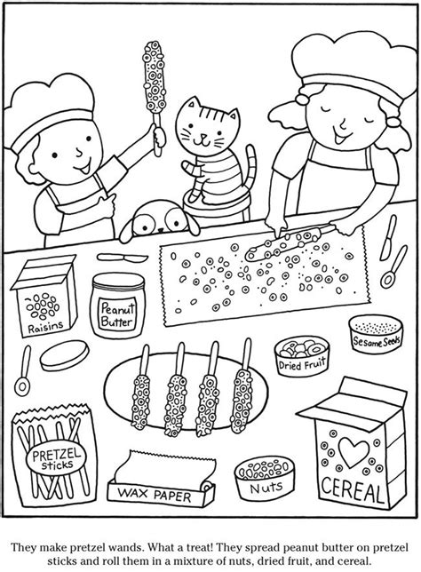 toy kitchen coloring page welcome to dover publications kleurplaten pinterest