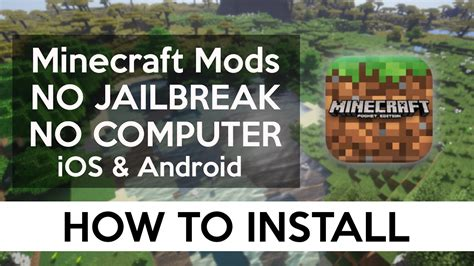 mod game ios no jailbreak how to install mods ios android no computer no