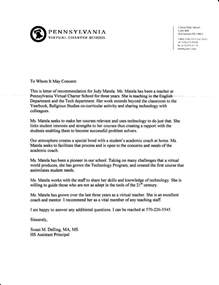 principal recommendation letter example Quotes