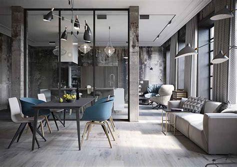 industrial style deko una cocina abierta al sal 243 n de aire industrial 183 an