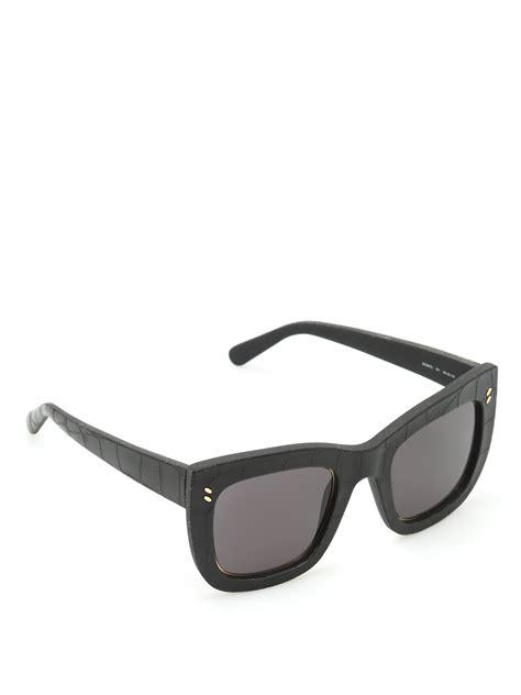 Stella Croco croco texture sunglasses by stella mccartney sunglasses ikrix