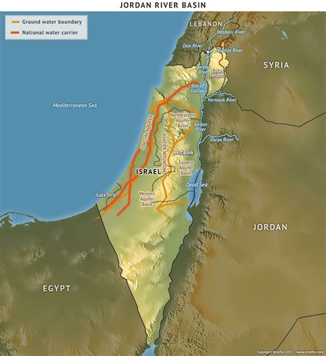 west bank definition israel s water challenge stratfor