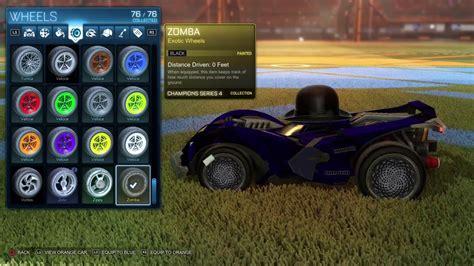 Black Zombas   black zomba wheels exotic black zombas in rocket league