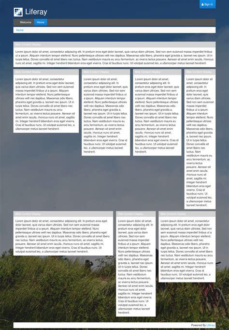 liferay layout bootstrap liferay 6 2 theme using bootstrap 3 blog surekha