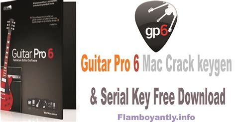 guitar pro 6 crack keygen download free full version guitar pro 6 mac crack keygen serial key free download
