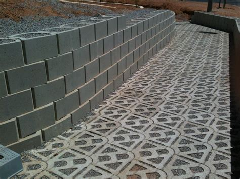 permeable paving blocks for storm water culvert the