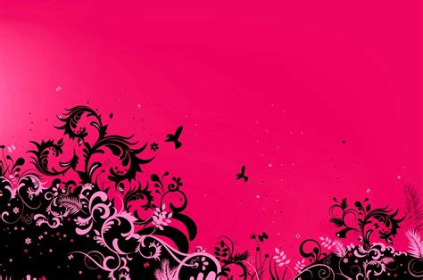 themes black and pink pink and black backgrounds for desktop wallpaper cave