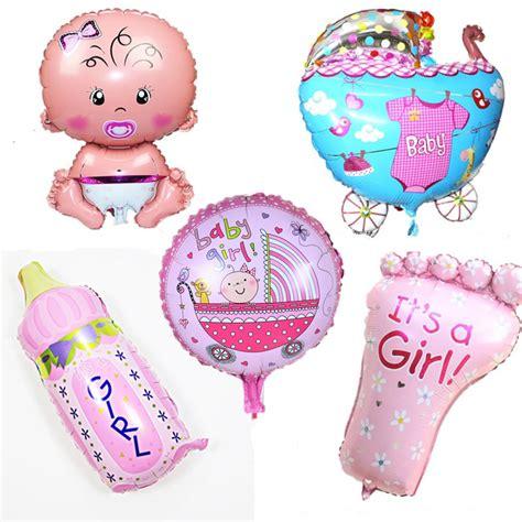 5pcs baby shower decorations aluminium foil balloons