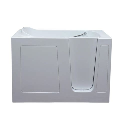 therapy bathtubs care series 2852 soaker walk in bath tub by american