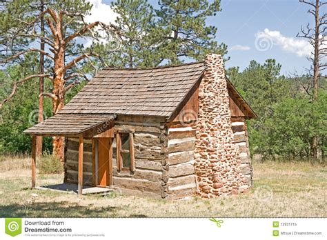 Pioneer Cabin by Pioneer Cabin Royalty Free Stock Photo Image 12931715